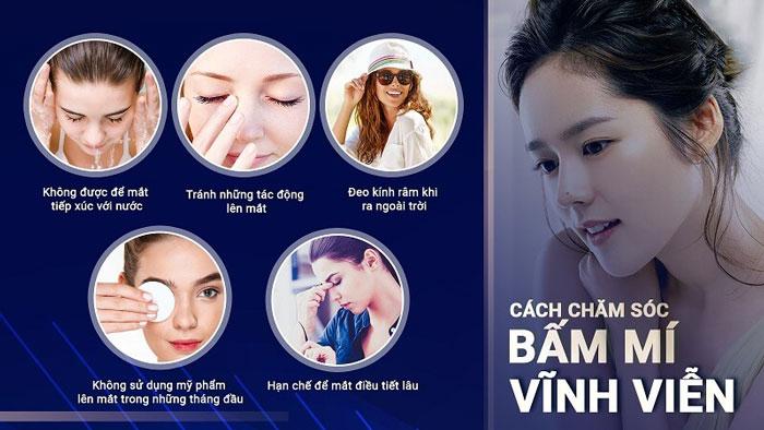 Bấm Mí Vĩnh Viễn - Mắt Đẹp Tự Nhiên Không Lộ Sẹo Xấu 2020