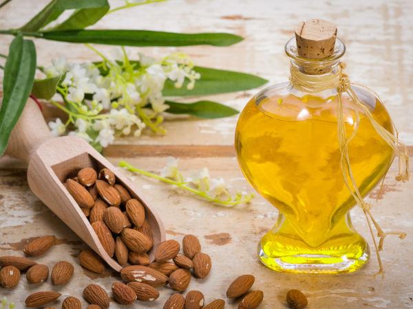 Cách trị quầng thâm mắt bằng dầu hạnh nhân và vitamin E